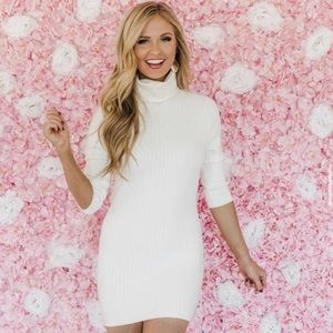 Gorgeous White Sweater Dress *Never Been Worn*